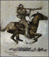 Indian riding horse