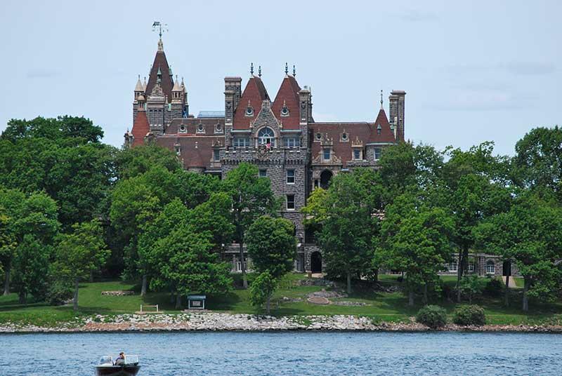 Boldt Castle On Thousand Island