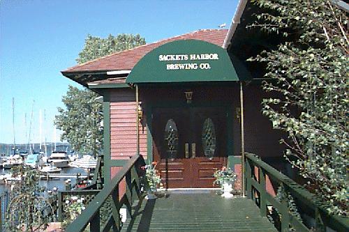 Sackets Harbor Brewing Entrance
