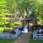 harp at wedding